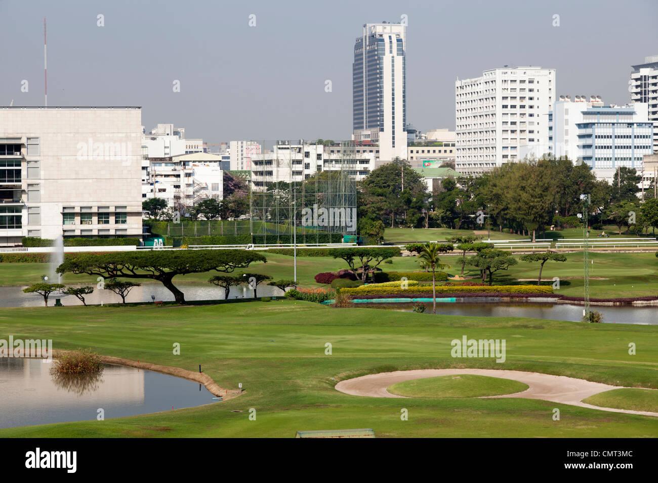 The Royal Bangkok Sports Club (RBSC), in Bangkok (Thailand).  Le Club Royal de Sports de Bangkok ou RBSC (Thaïlande). - Stock Image