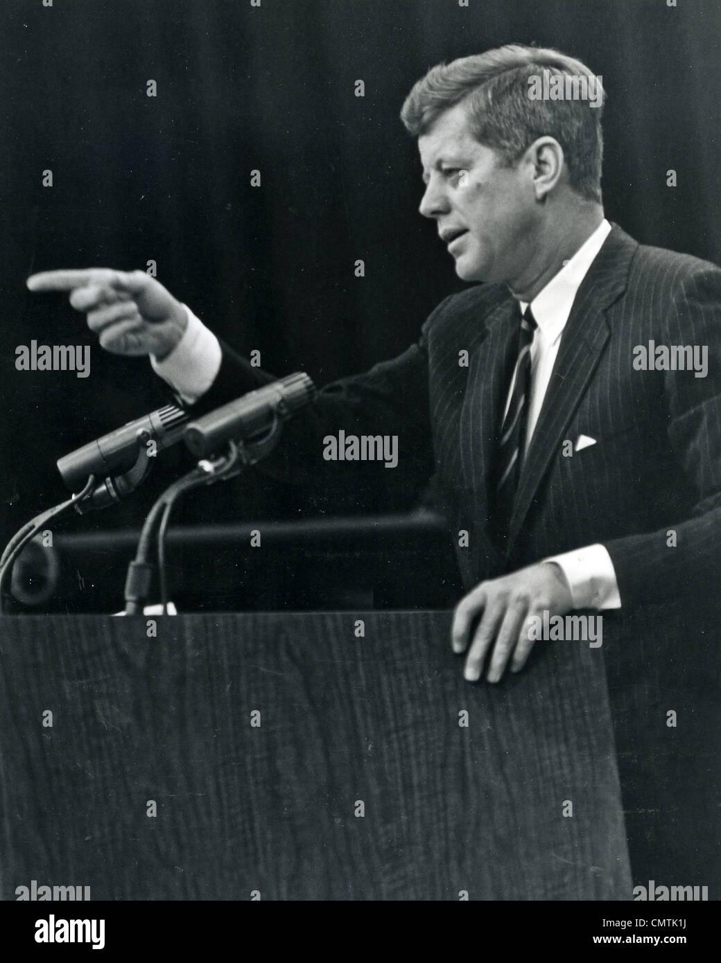JOHN FITZGERALD KENNEDY  (1917-1963)  35th US President - Stock Image