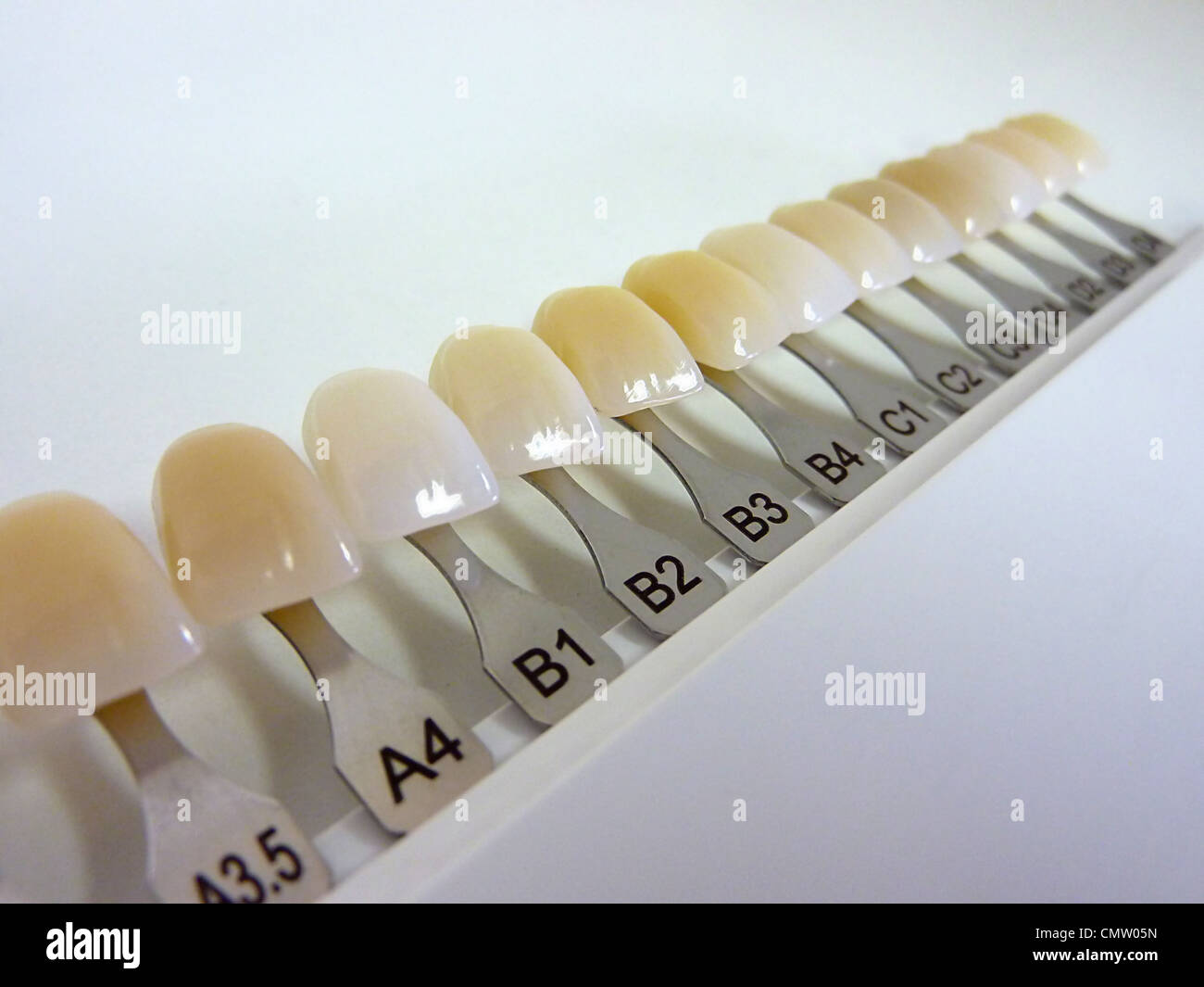 picture about Tooth Shade Chart Printable titled Colour Expert Inventory Visuals Colour Consultant Inventory Visuals - Alamy