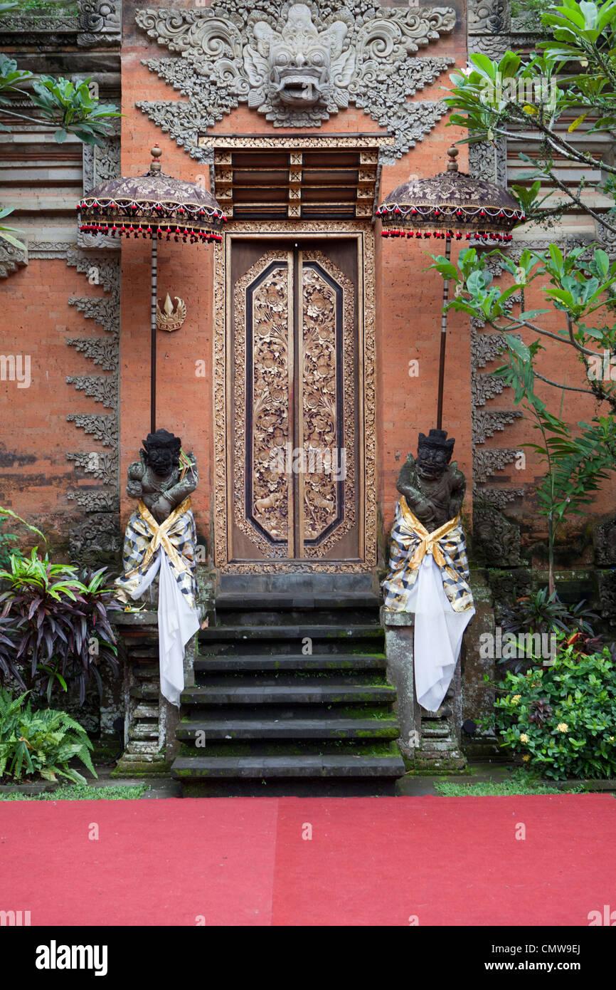 Pura Taman Saraswati temple, Bali Indonesia - Stock Image