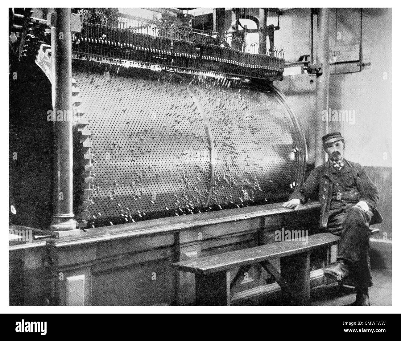 1925 Chime mechanism Lofty Tower of Long John of Middelburg - Stock Image