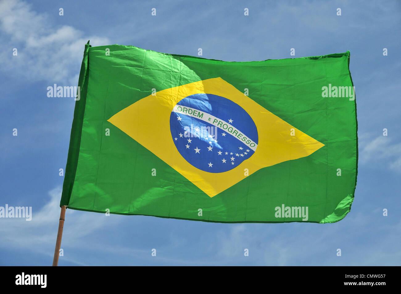 Brazil Flag Ico