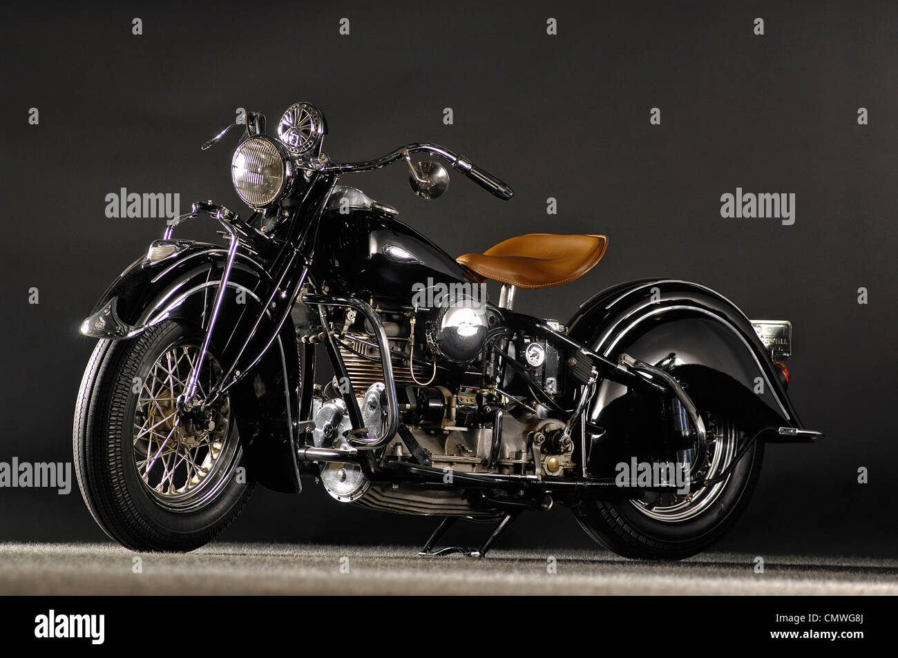 1940 Indian Four IOE in-line four - Stock Image