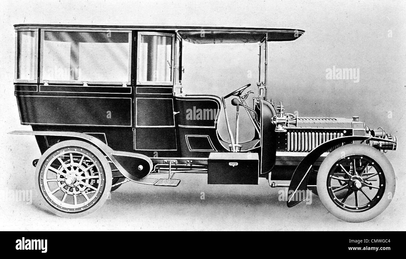 1905 Motor car Rolls-Royce - Stock Image