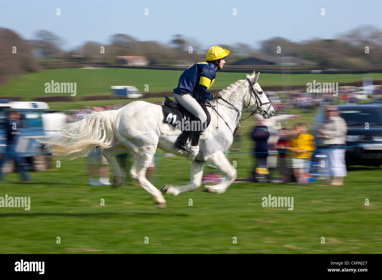 Grand National, Scurry, Apse Heath, Ryde, Isle of Wight England UK Stock Photo