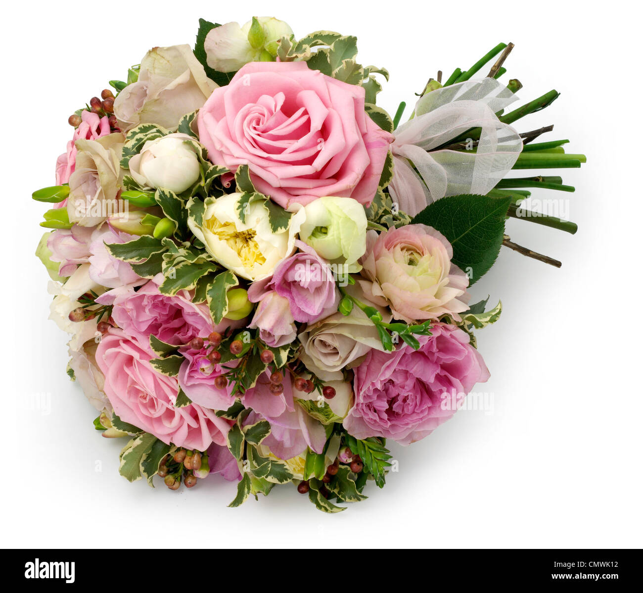 one large bouquet - Stock Image