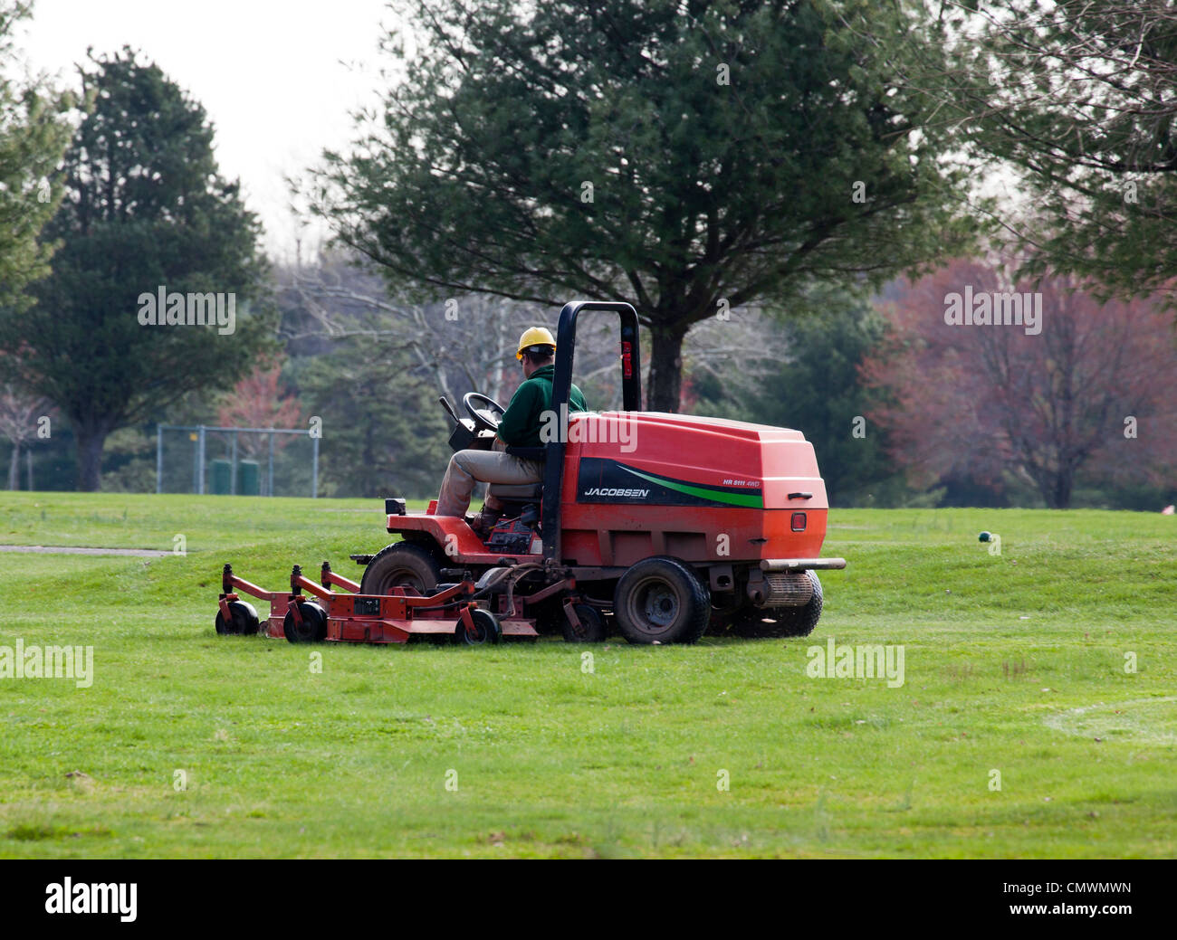 mowing golf course fairway stock photos  u0026 mowing golf
