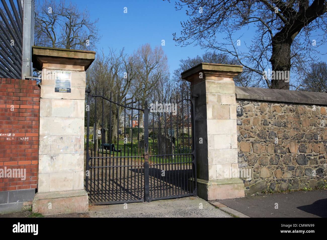 Clifton Street Cemetery Belfast Northern Ireland uk - Stock Image