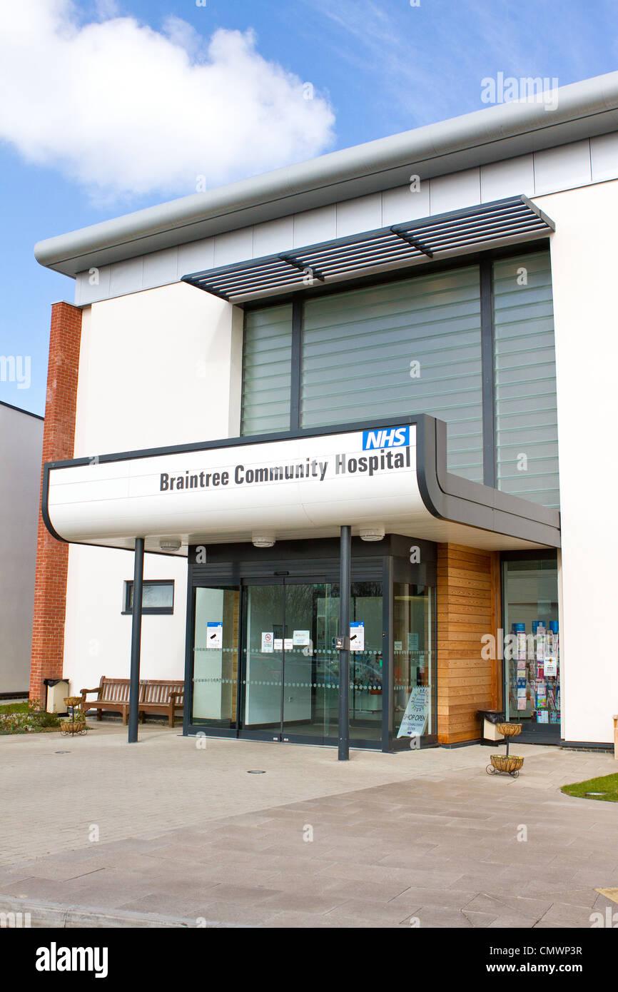 Braintree Community Hospital, Essex - Stock Image