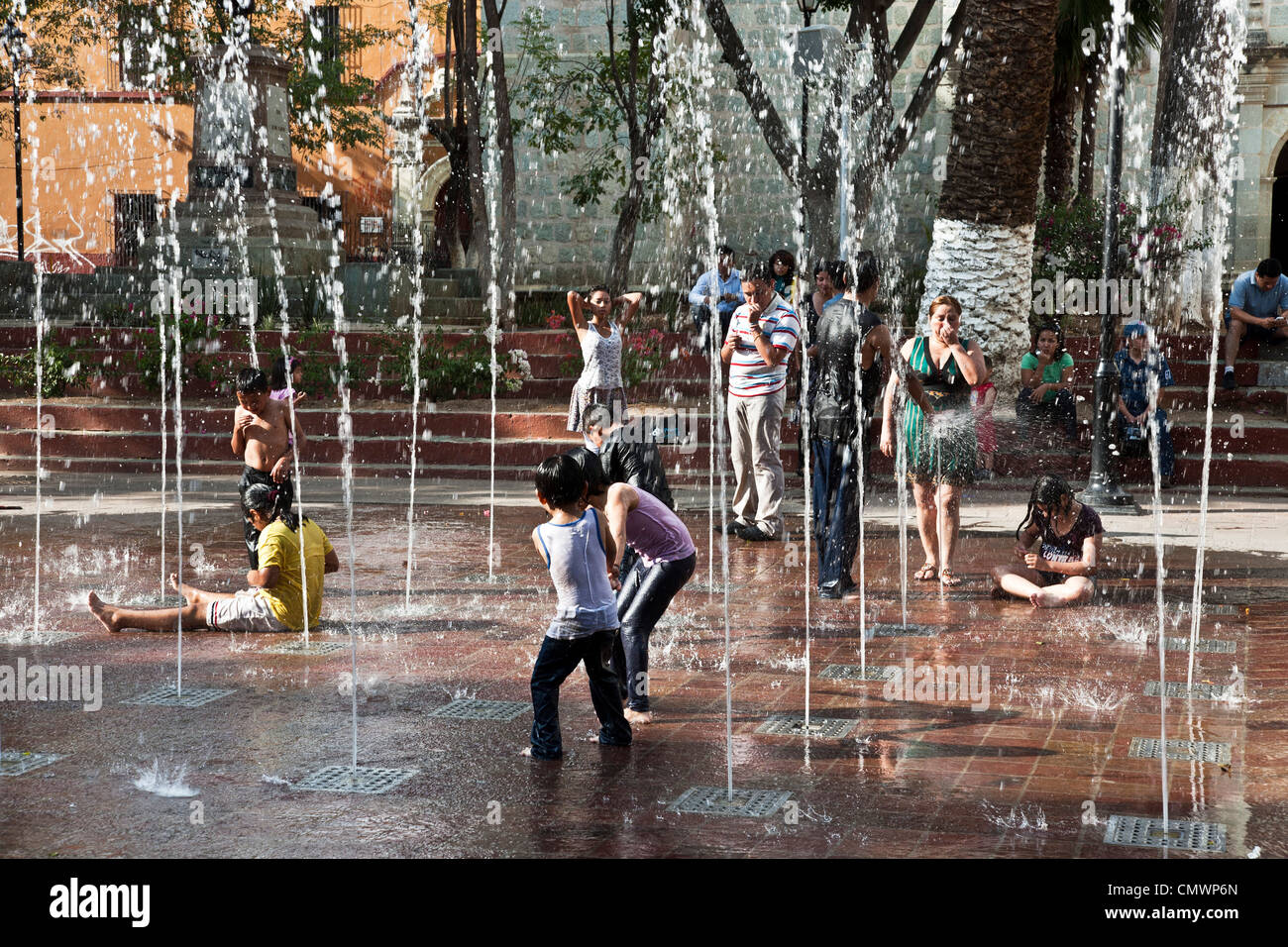 Kids Play In Water Feature Stock Photos Amp Kids Play In Water Feature Stock Images Alamy