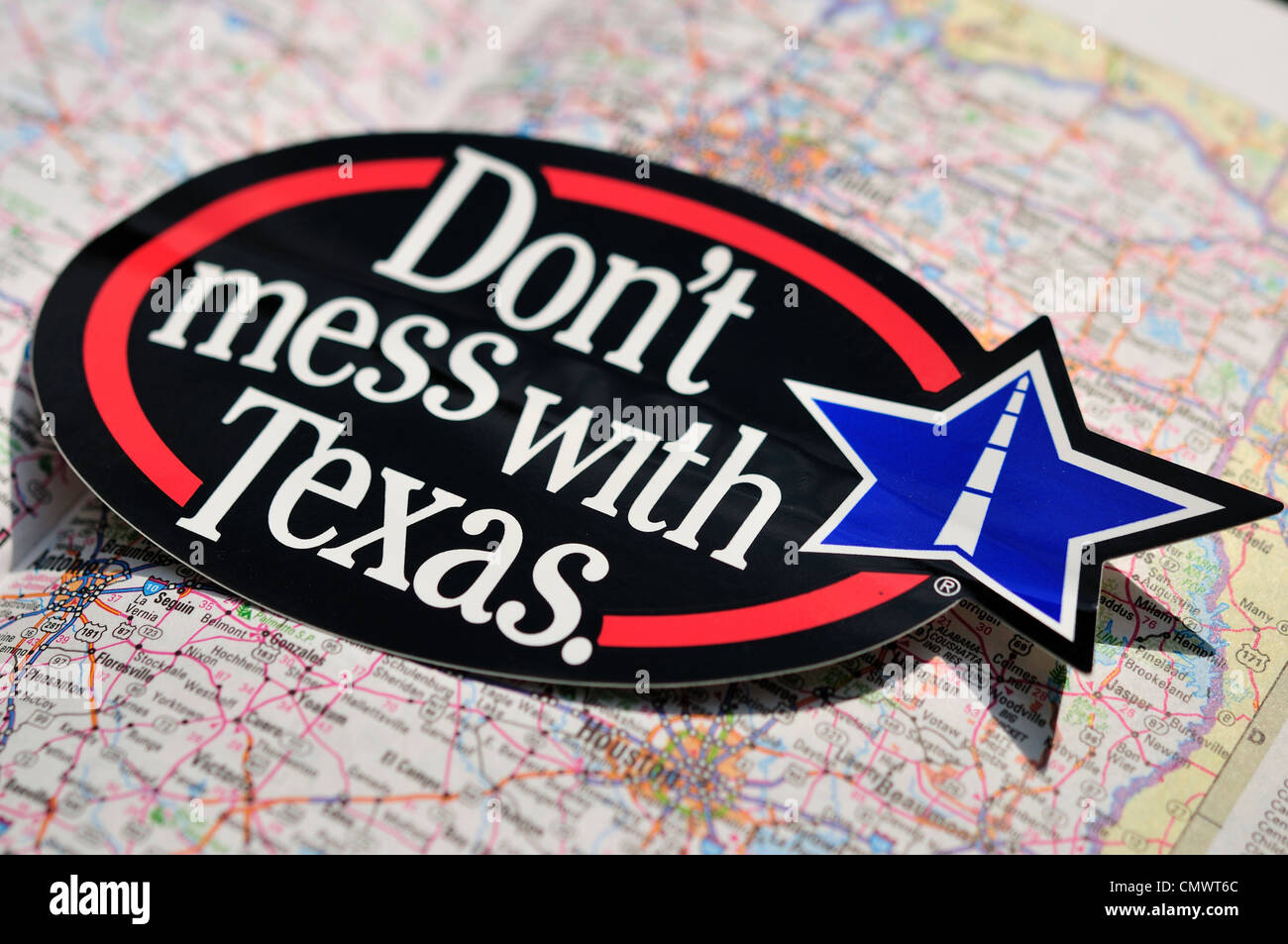 'Don't Mess with Texas'. - Stock Image