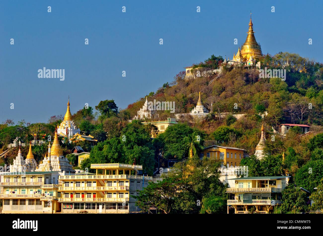 Sagaging Hill, Mandalay, Myanmar - Stock Image
