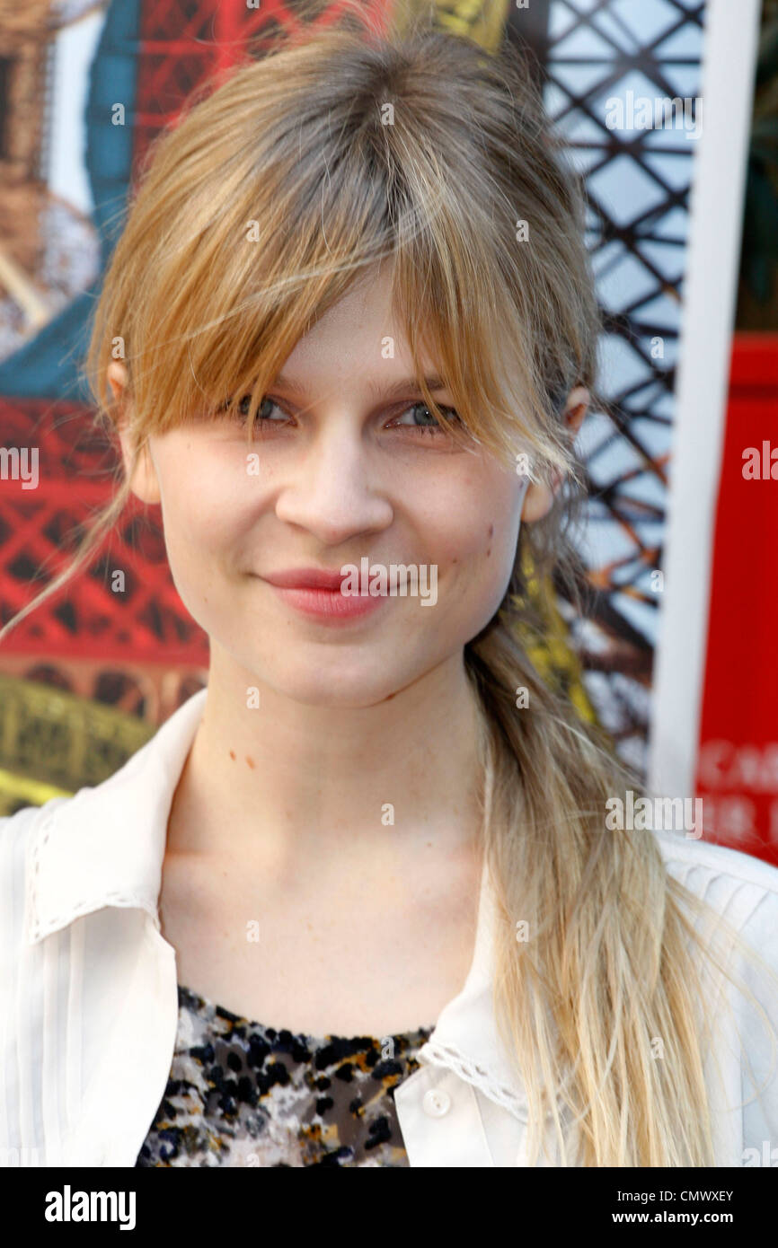 French actress CLEMENCE POESY is in Athens partipating in the panel of judges at the 13th French Film Festival. - Stock Image