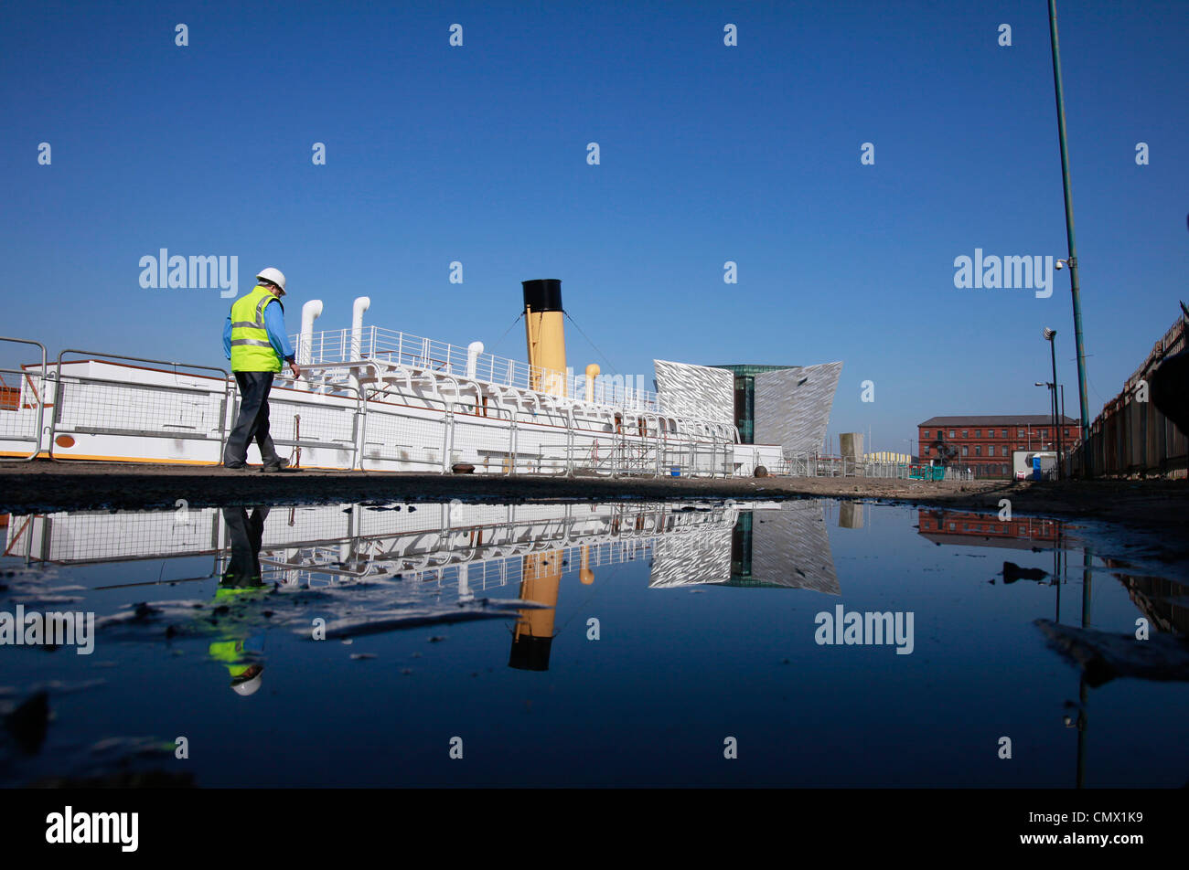 Titanic Stock Photo