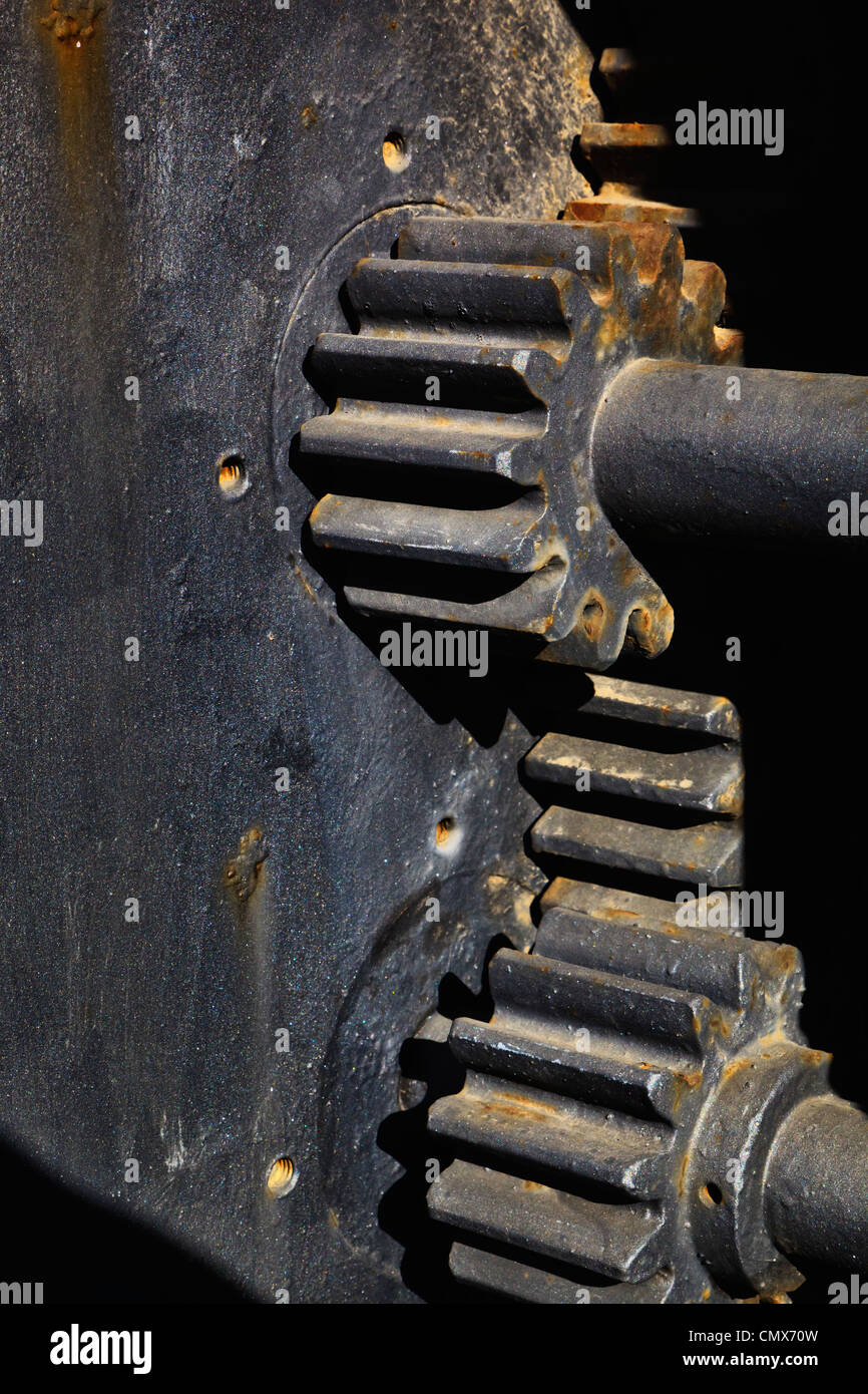 Cogs in a machine. - Stock Image