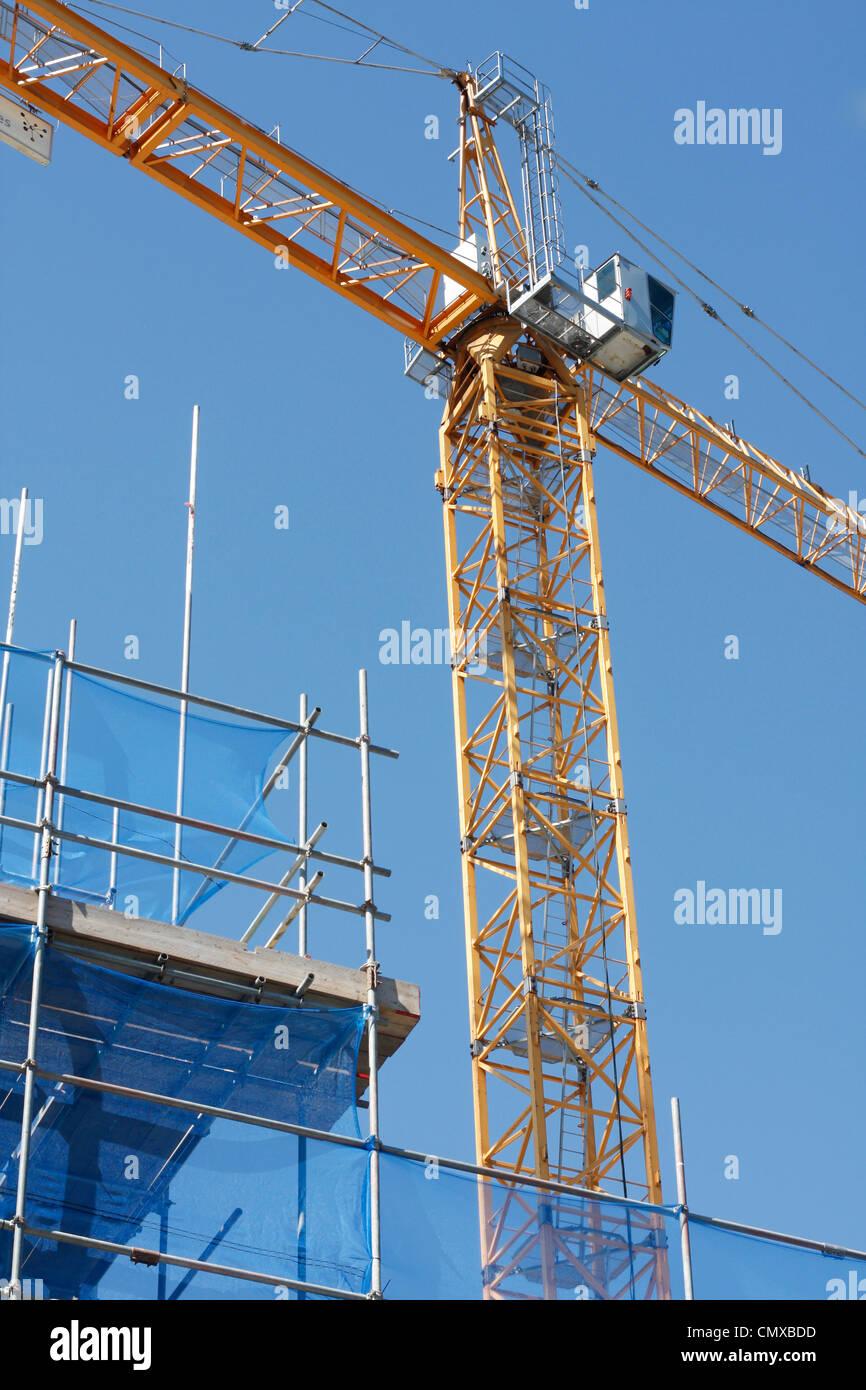 Scaffolding - Stock Image