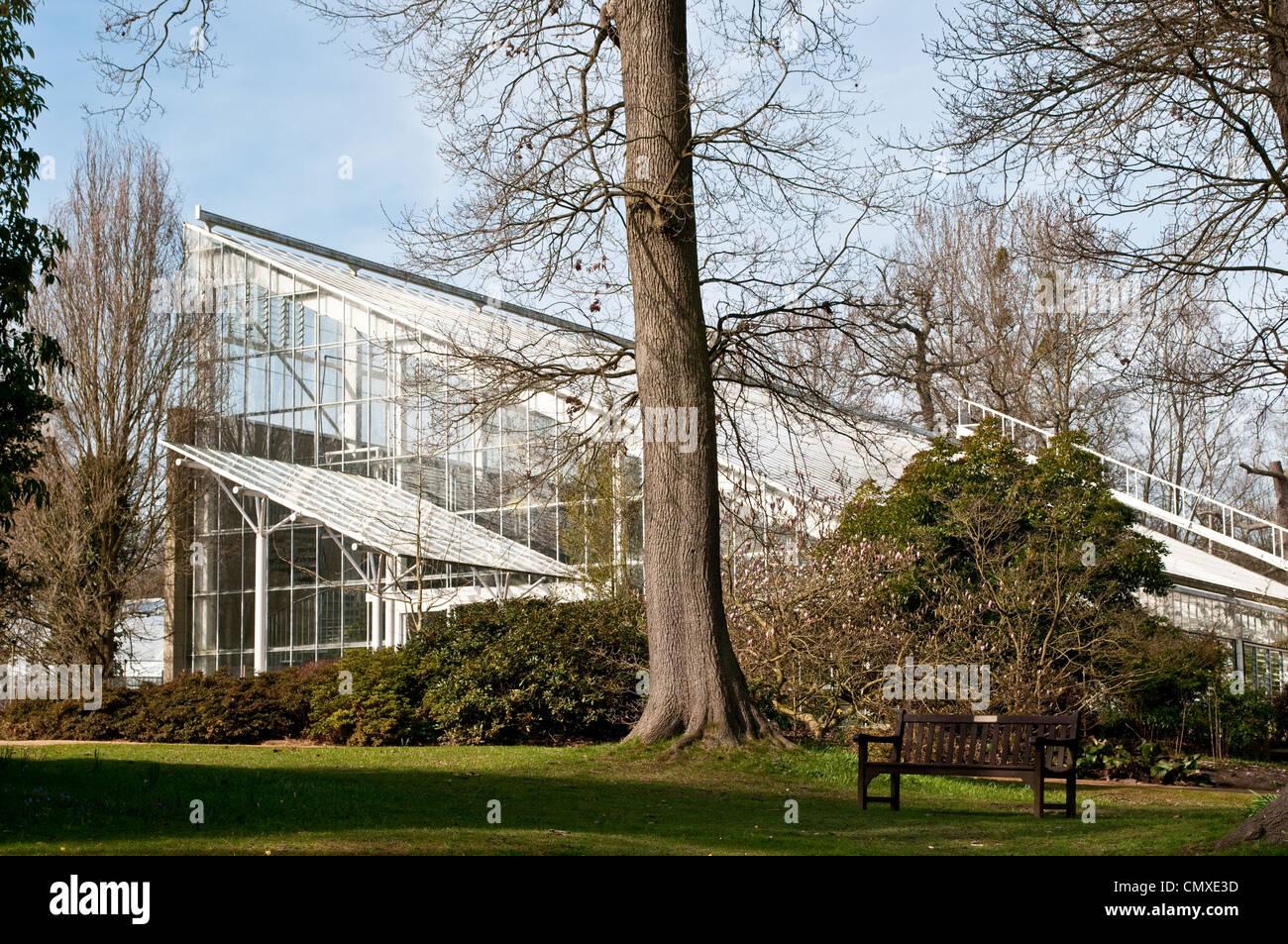 Queen Elizabeth Temperate House, Savill Garden, Berkshire, England, UK - Stock Image