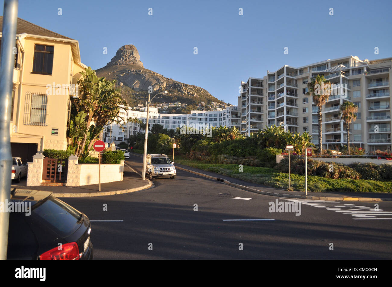 lions head capetown southafrica Stock Photo