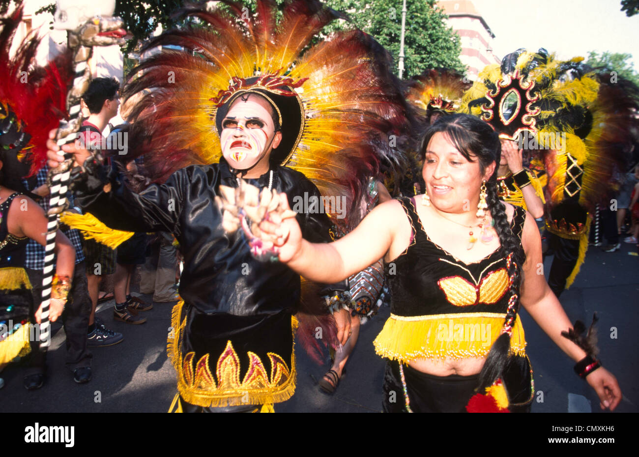 Carneval of Cultures, Berlin - Stock Image