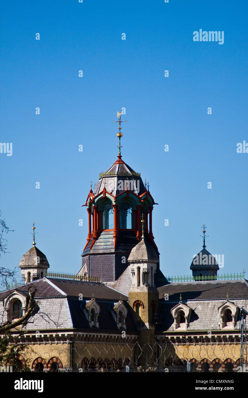 Abbey Mills pumping station - Stock Image