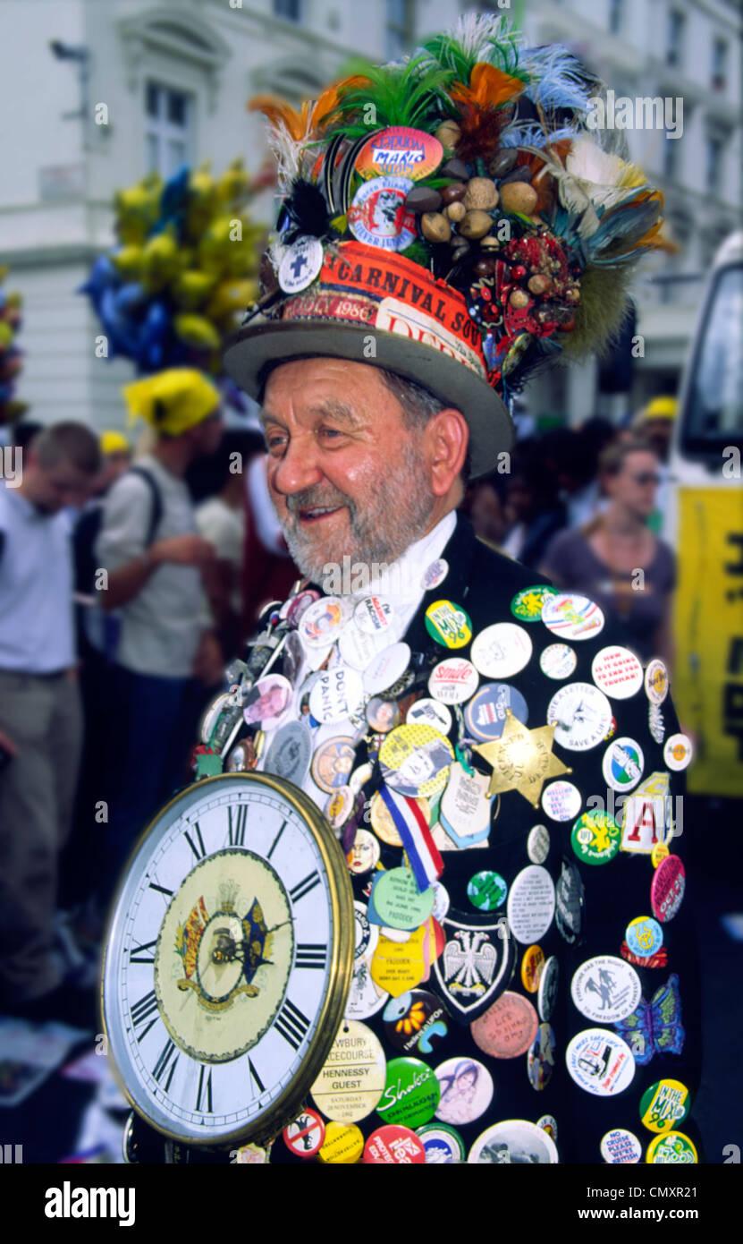 UK, London, Notting hill carnival - Stock Image