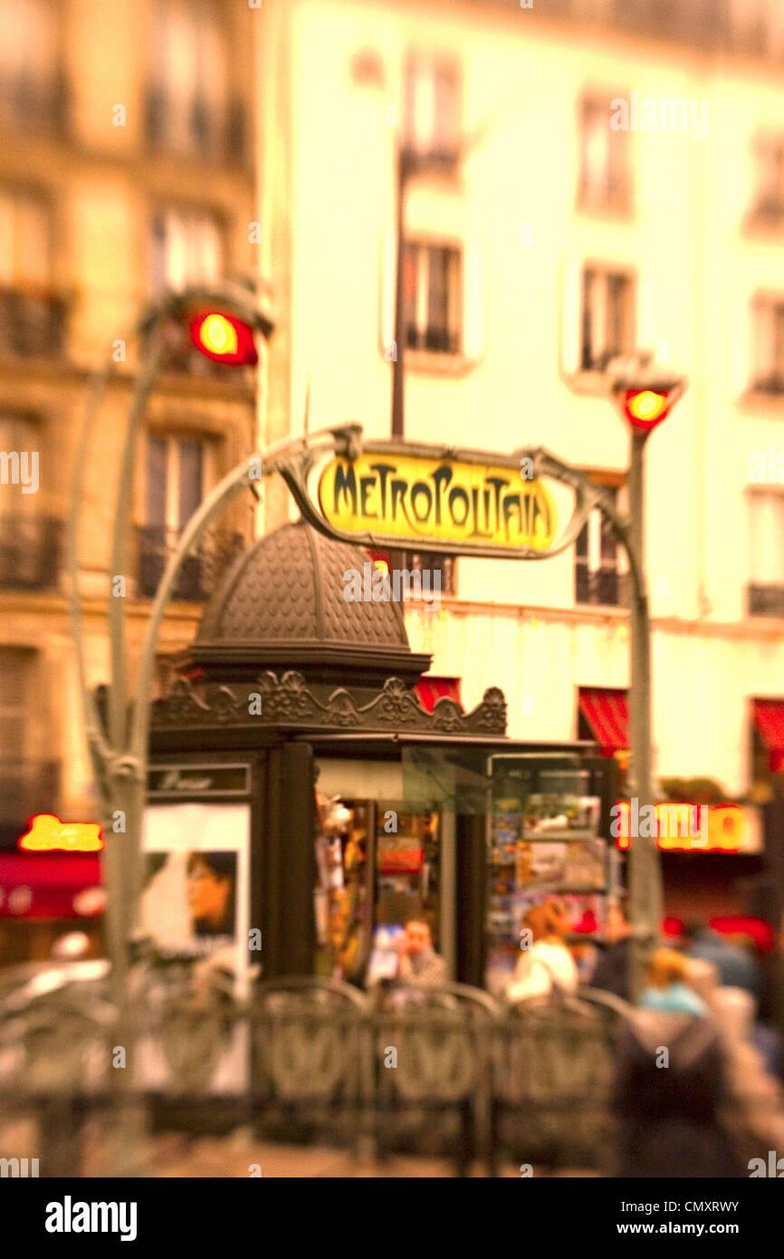 Clichy Place Paris Stock Photos & Clichy Place Paris Stock Images ...