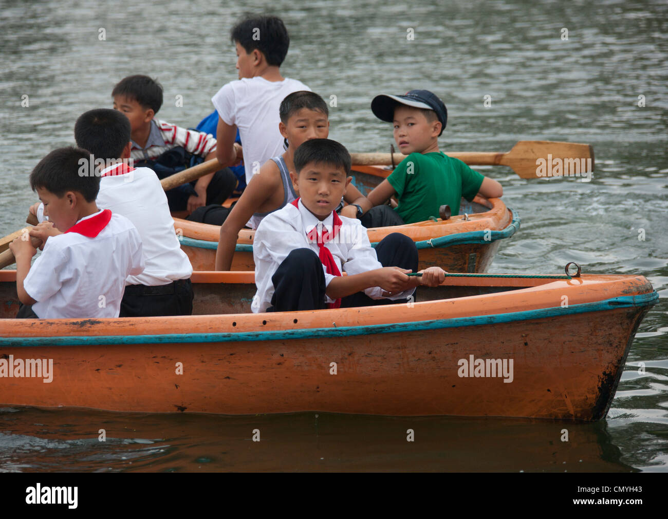 Songdowon International Children Union Camp in Wonsan, North Korea - Stock Image