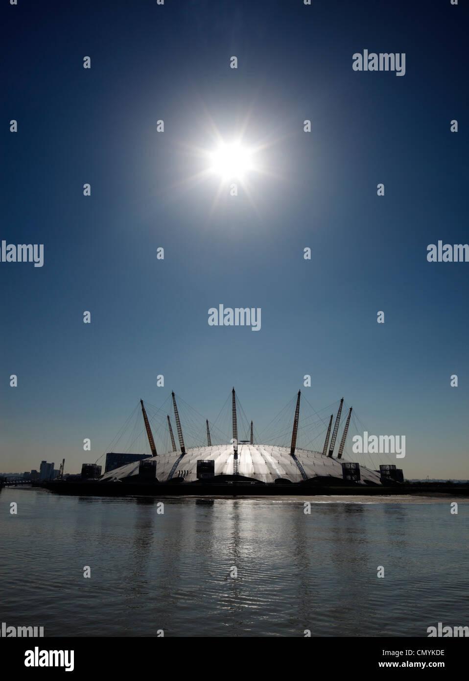 The O2 Dome, Greenwich peninsula, London. - Stock Image