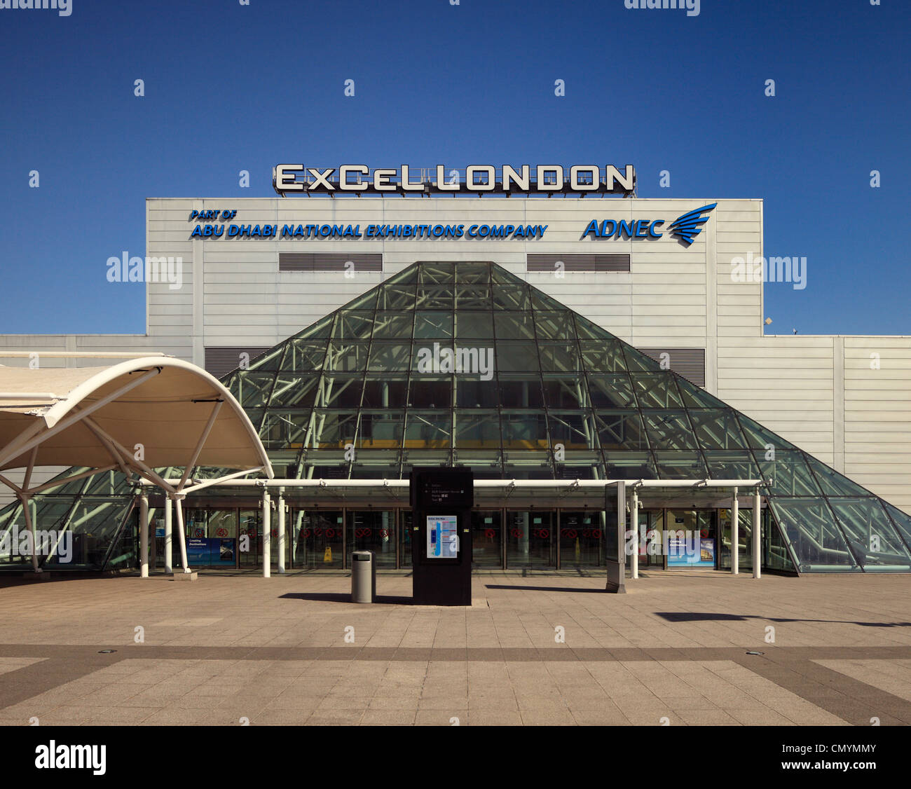 Excel centre, Royal Victoria Docks, London. - Stock Image