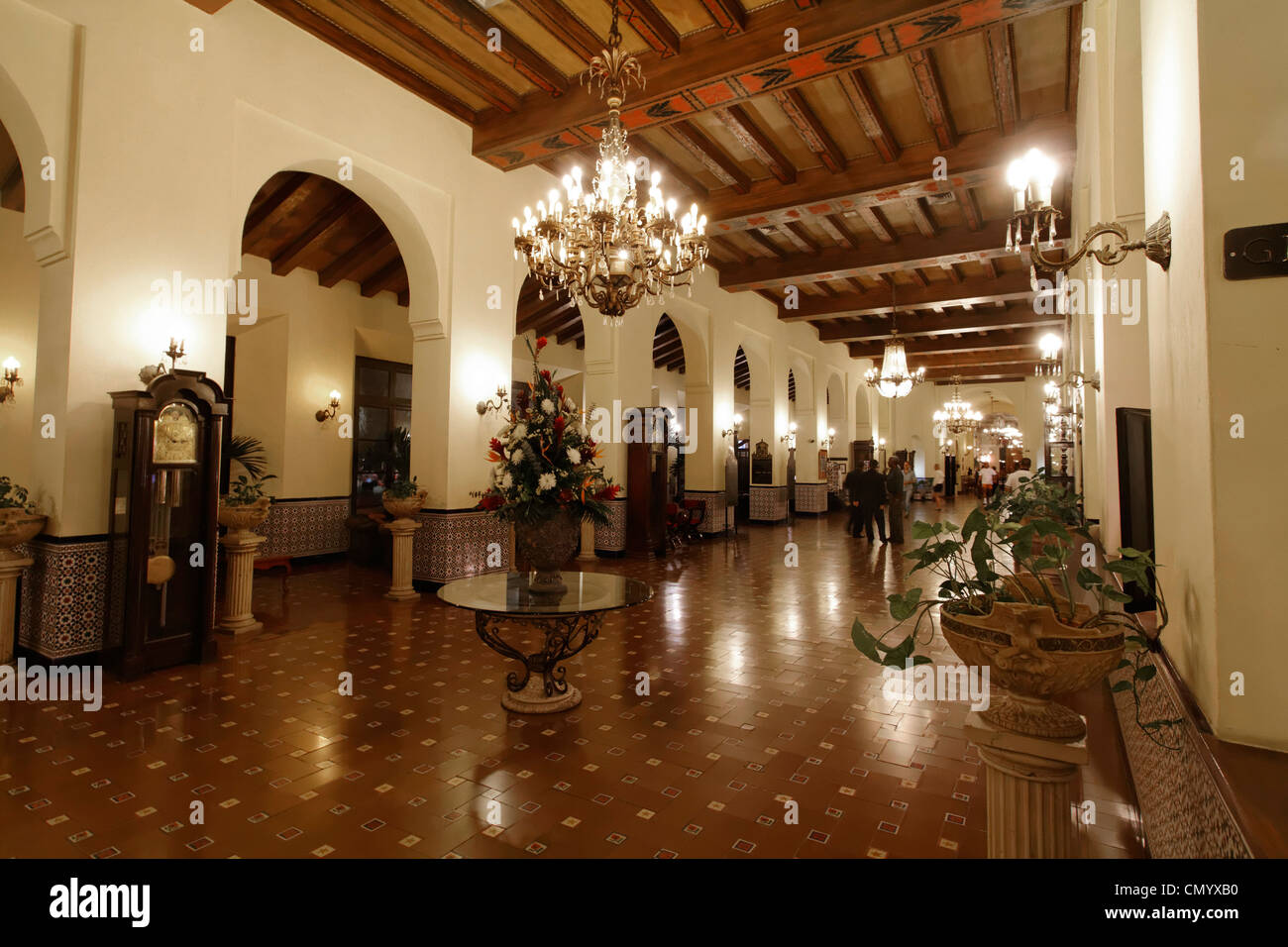 Hotel National Vedado, Lobby, Cuba, Greater Antilles, Antilles, Carribean, West Indies, Central America, North America, Stock Photo