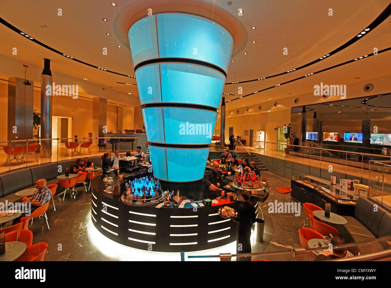 T hotel, Design Hotel Bar, Cagliari, Sardinia, Italy Stock ...
