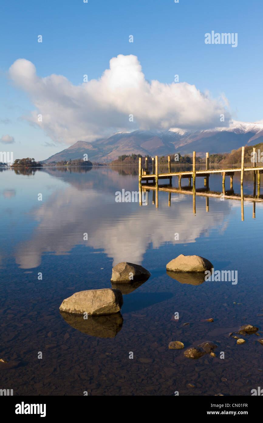 Derwentwater, Lake District, England - Stock Image