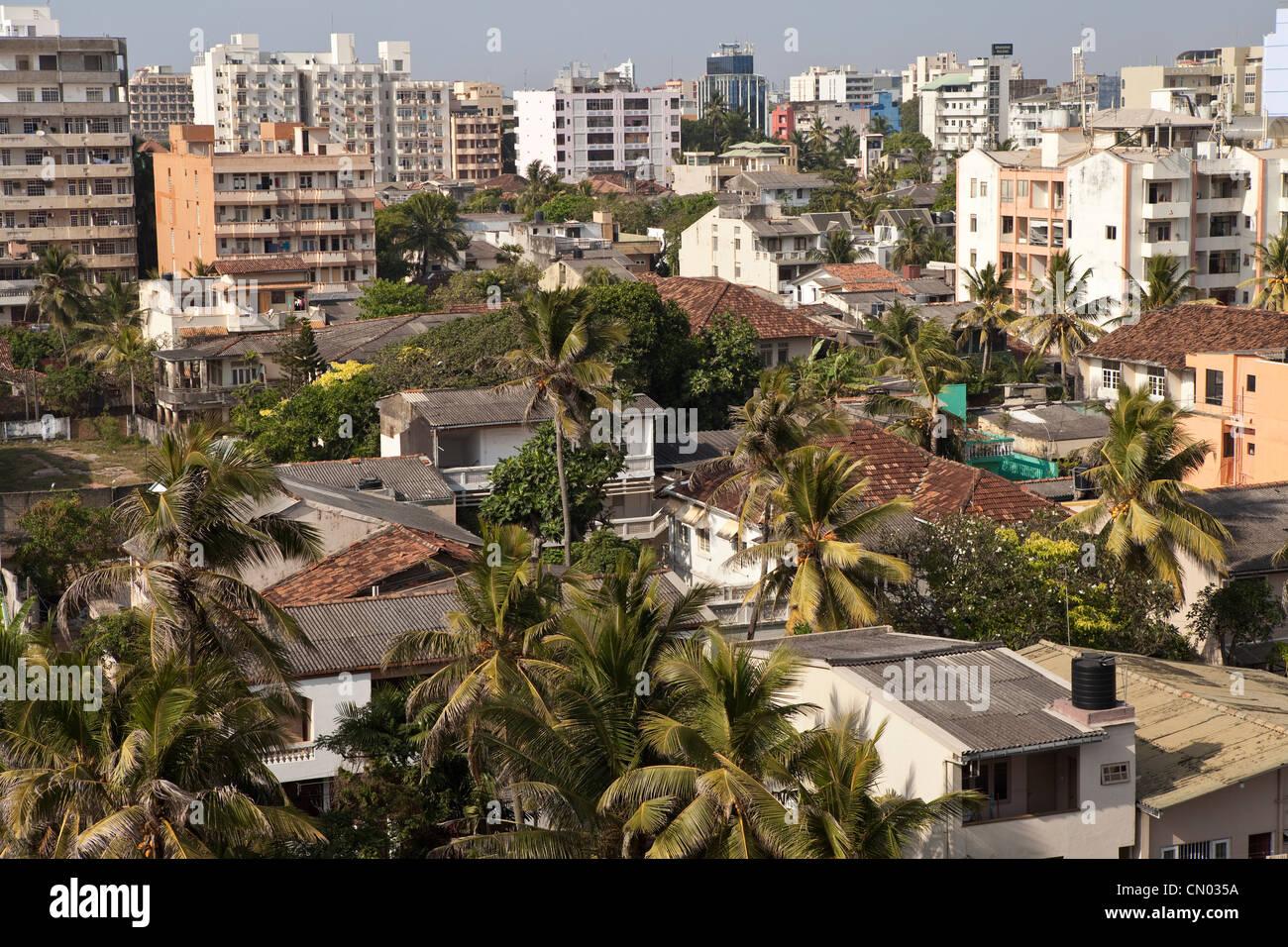 Colombo, Sri Lanka Skyline. - Stock Image
