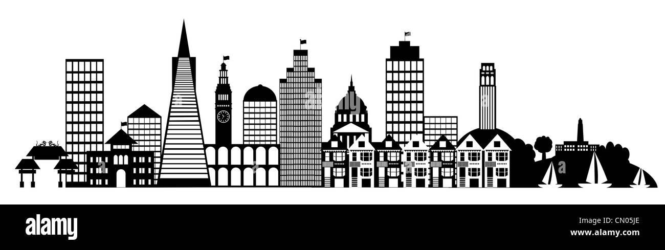 city hall silhouette san francisco stock photos city hall