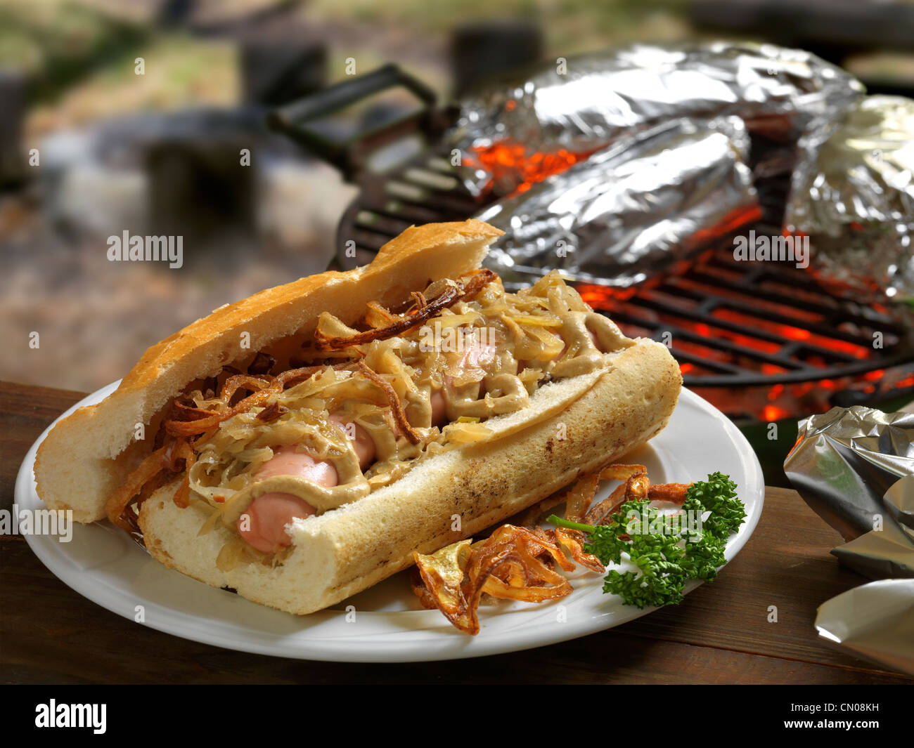 French sandwich - Stock Image