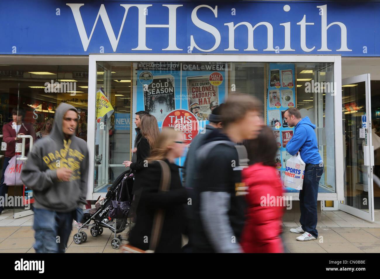 W H Smith Stock Photo