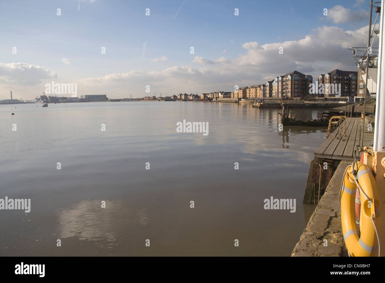 grays on the north bank or the thames in London - Stock Image