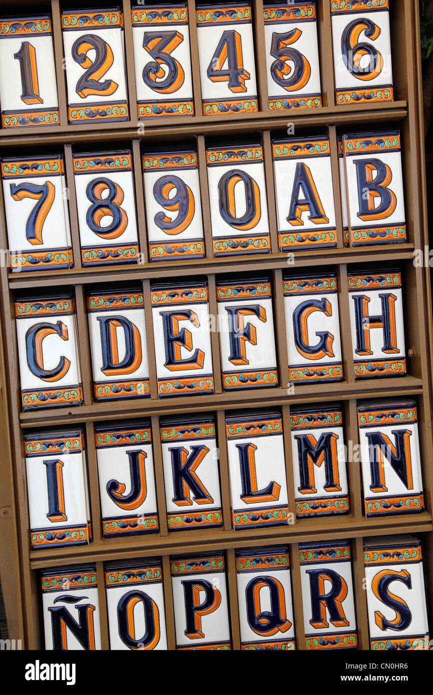 Numbers Letter Letters Alphabet Decoration Stock Photos & Numbers