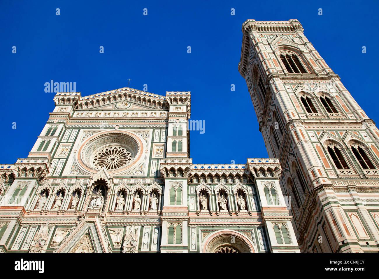 Florence, Duomo Santa Maria del Fiore Cathedral - Stock Image
