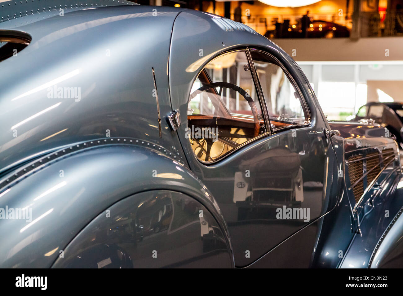 The 1936 Bugatti Type 57 Sc Atlantic At The Mullin Museum In Oxnard Stock Photo Alamy