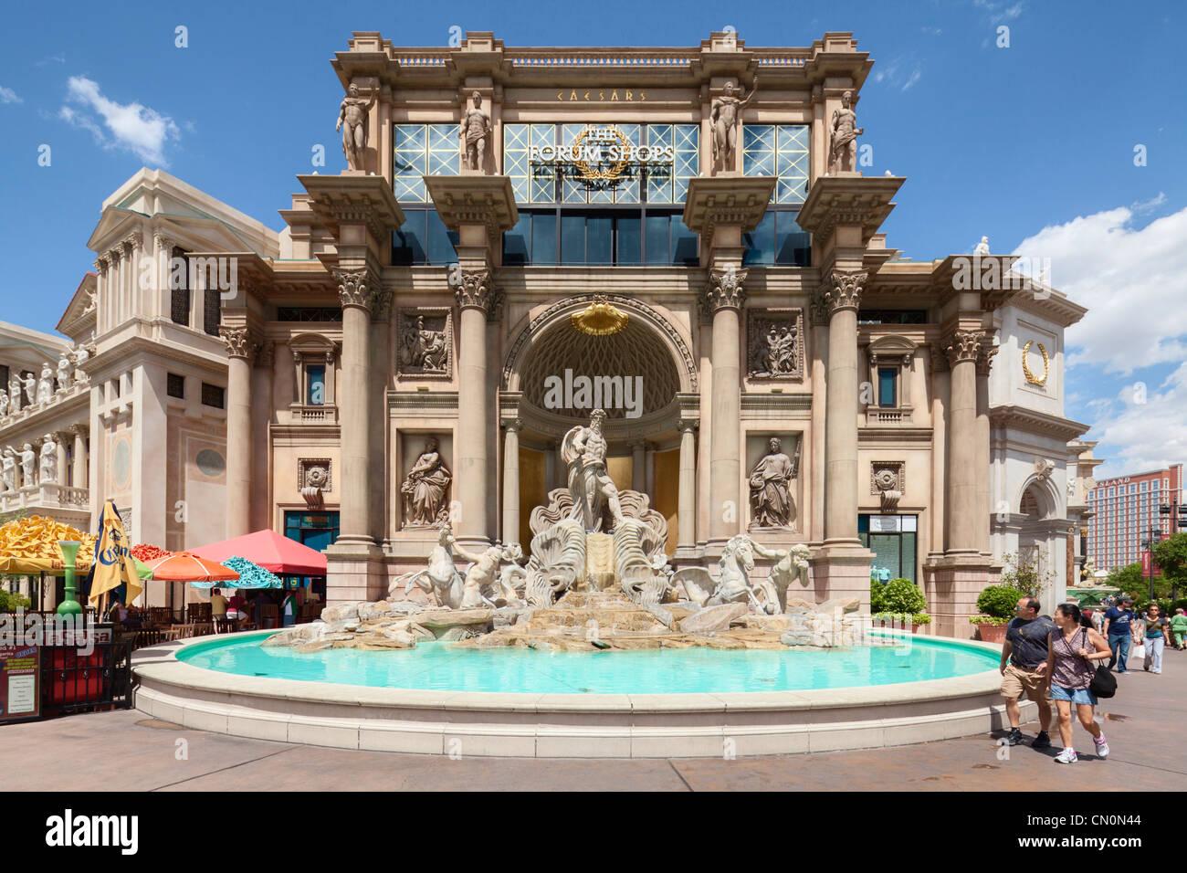 Caesars Palace Forum Shops Trevi Fountain, Las Vegas