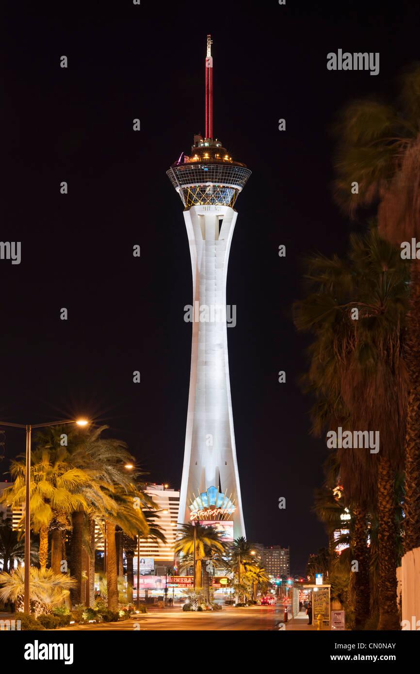 Stratosphere, Las Vegas Paradise - Stock Image