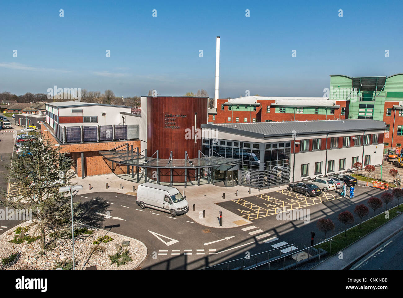 Clatterbridge Cancer Centre at the Aintree hospital in Liverpool. - Stock Image