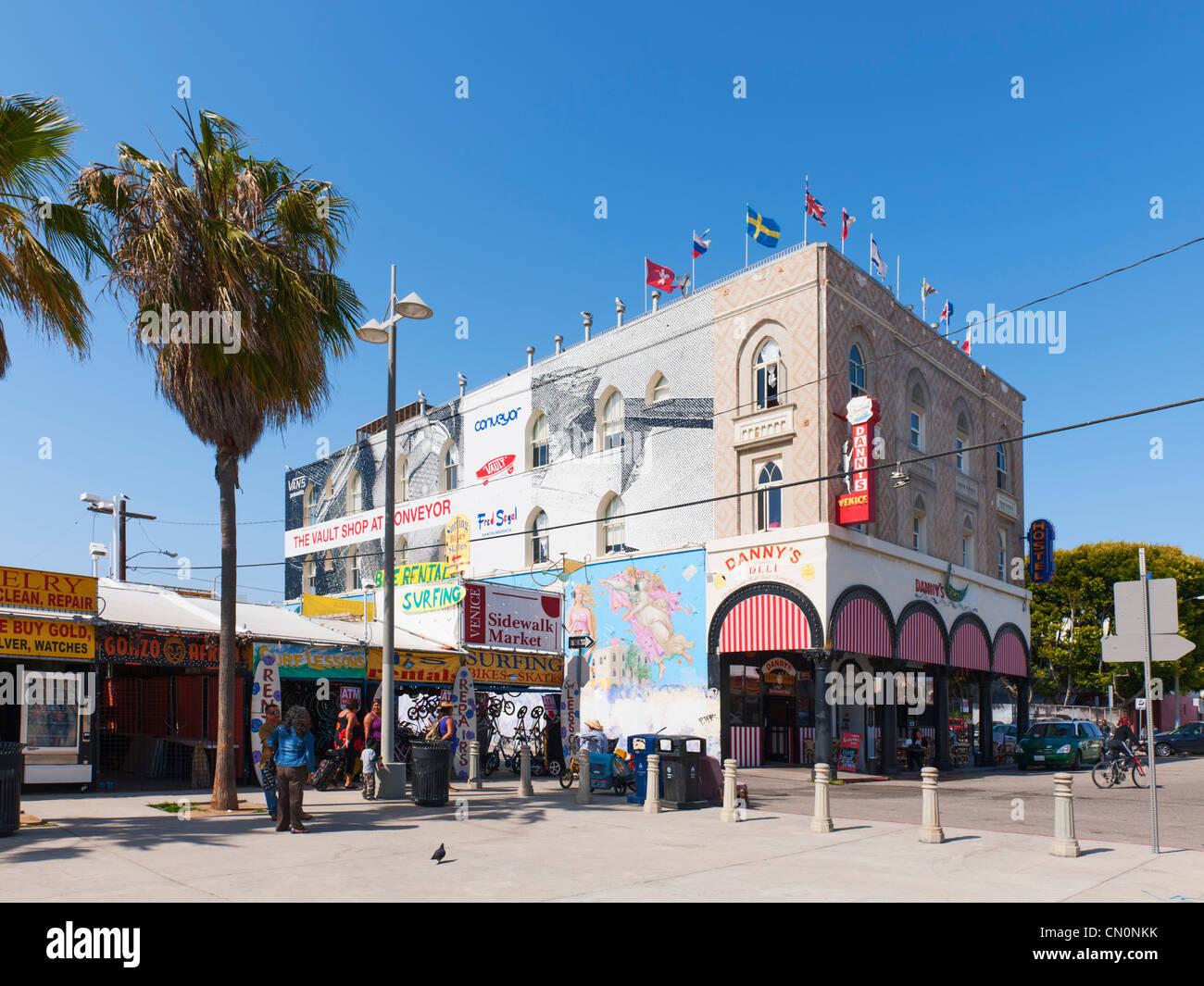Danny's Deli, Venice Beach, Los Angeles - Stock Image