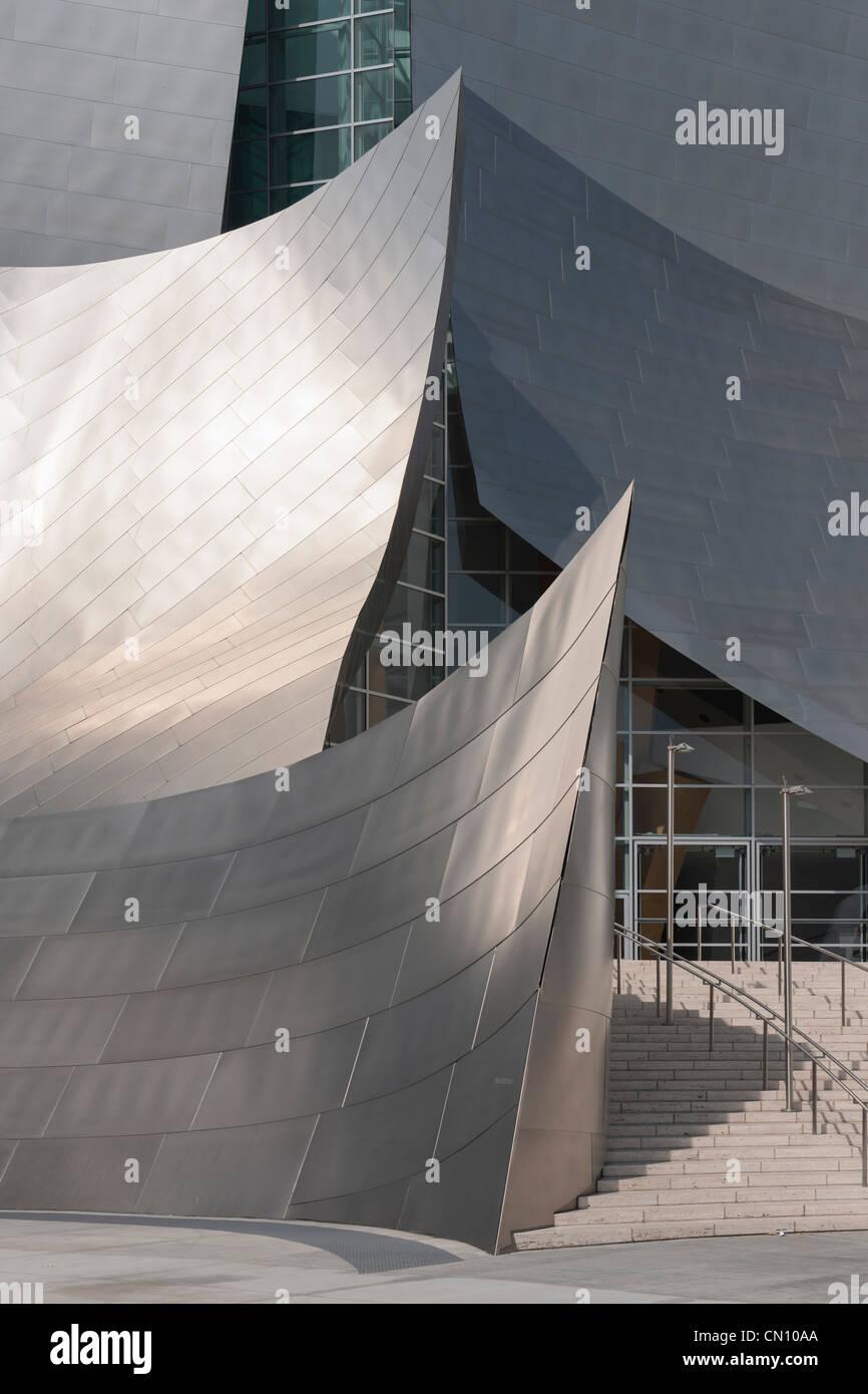 Walt Disney Concert Hall, Los Angeles Stock Photo