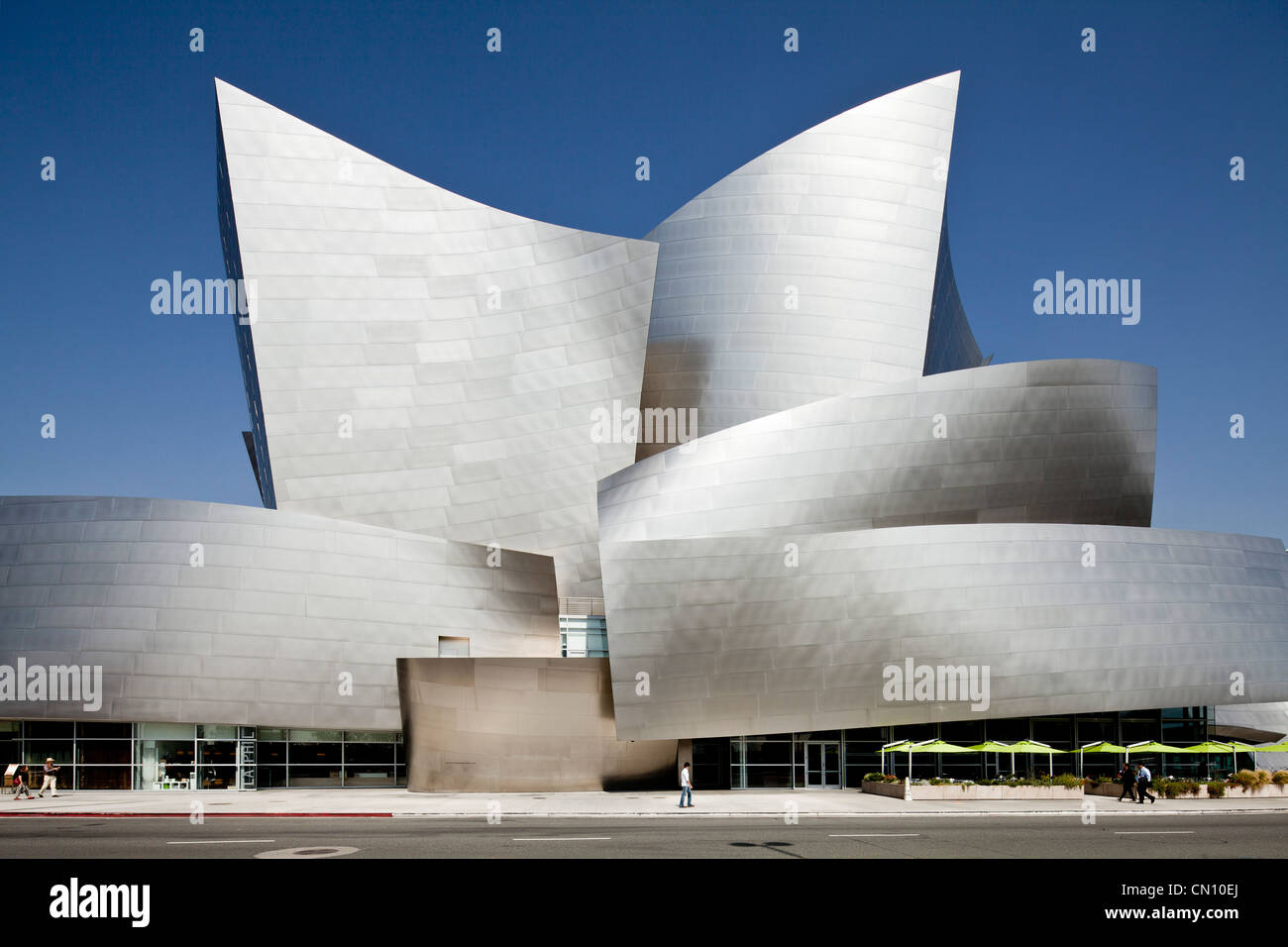 Walt Disney Concert Hall, Los Angeles Stock Photo