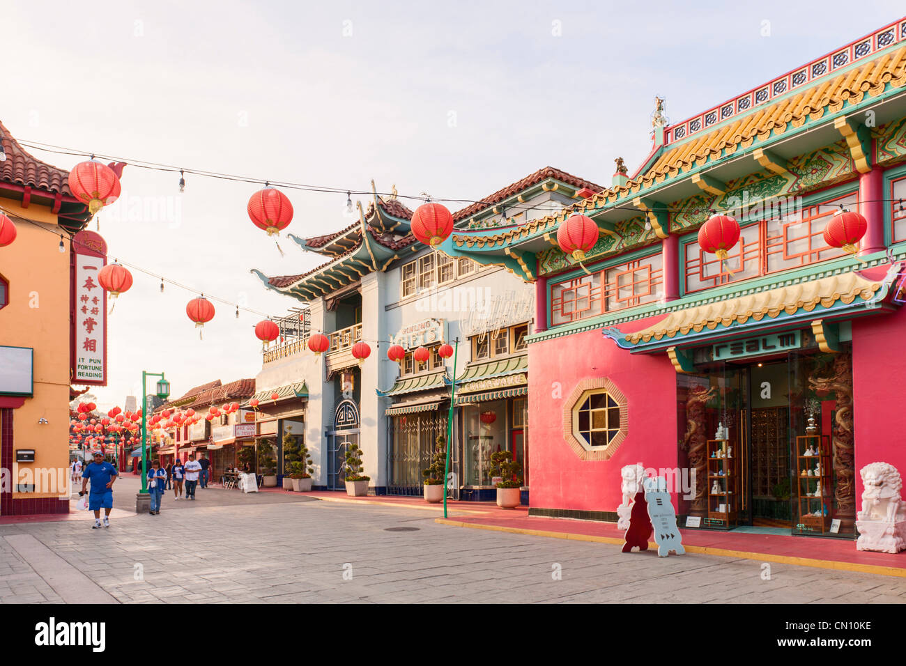 old chinatown central plaza stock photos old chinatown. Black Bedroom Furniture Sets. Home Design Ideas