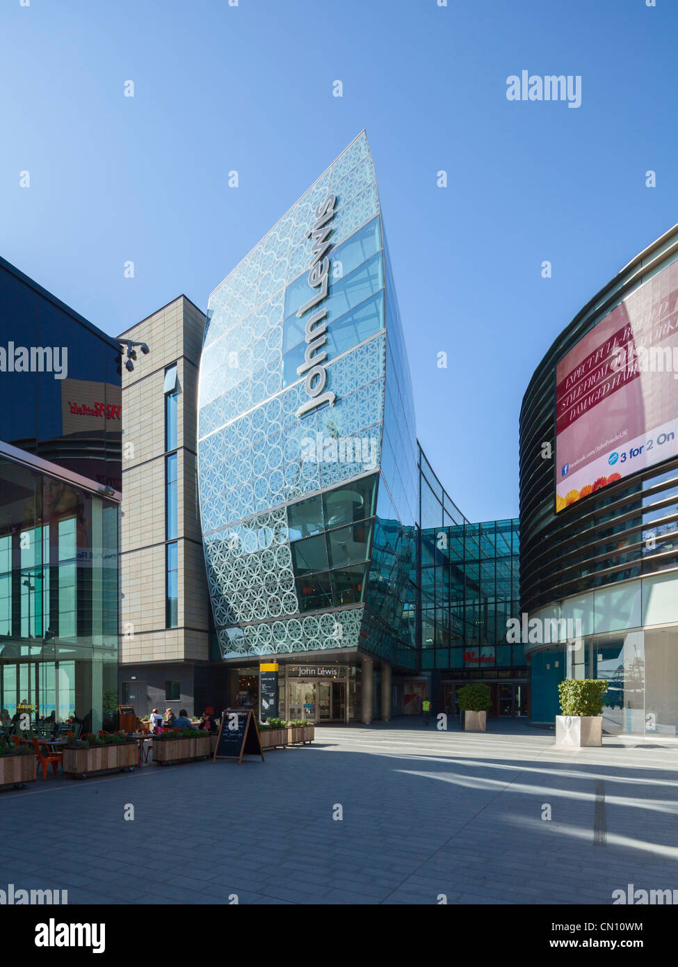 Westfield Stratford City adjacent to Olympic Park, London, UK, 26th March 2012 - Stock Image