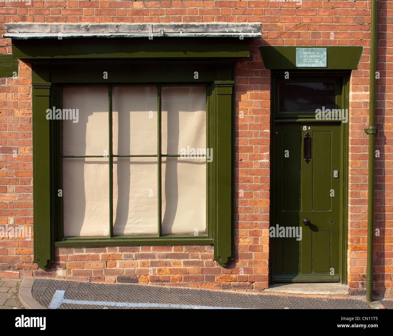 The D H Lawrence birthplace museum in Eastwood, Nottinghamshire - Stock Image