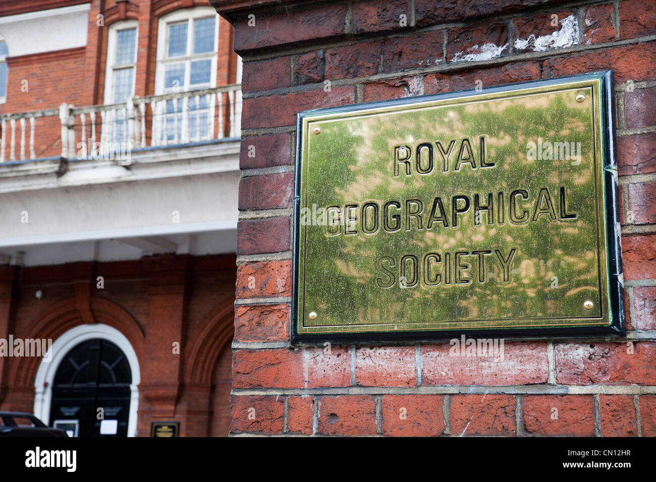 Royal Geographical Society, London, UK - Stock Image